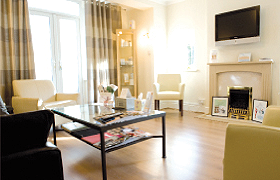 tranquil surroundings in our aesthetic clinic